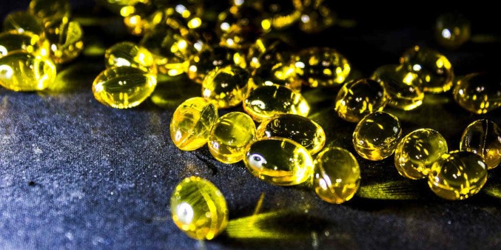 capsule gel di olio di pesce con omega 3